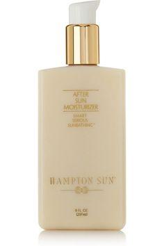 Hampton Sun - After Sun Moisturizer, After Sun, Green Tea Oil, Beauty Heroes, Beauty Secrets, Beauty Products, Beauty Ideas, Bronze Skin, Walnut Oil, Best Foundation