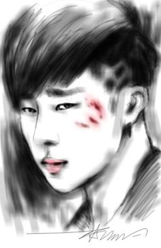 "[Sketch] Save me.. #SungGyu ""BACK"""