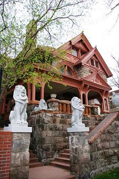 Molly Brown House, Denver.  (The Unsinkable Molly Brown.)