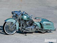 Harley Davidson 2007 bagger.