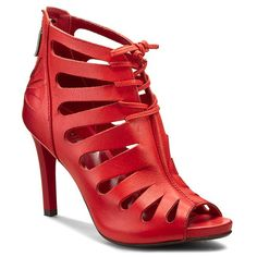 Sandály CARINII - B3227 Savage 1925 Shoe Boots, Shoes, Savage, Peep Toe, Fashion, Sandals, Moda, Zapatos, Shoes Outlet