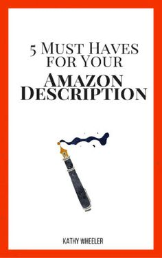 Book marketing is so important. In this quick video you will learn some of  the key elements that you should have in your book's description on Amazon  through an analysis of Jen Sincero's You Are a Badass books.  Here's an easy list:     1. Establish your authority    2. Use any significant