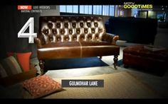 An array of different textures contributes to a unique flair of a home when they are used in a contemporary way. Materials like concrete, wood, metal, leather and glass when combined interestingly, create a perfect harmony in a living space.  Watch Luxe Interiors on NDTV GoodTimes featuring our Gulmarg Sofa and Chesterfield Ottoman as must-have 'Leather Furniture' for your home: http://goodtimes.ndtv.com/tv-shows/luxe-interiors-774  #GulmoharLane   #LuxeInteriors   #NDTV   #NDTVGoodTimes