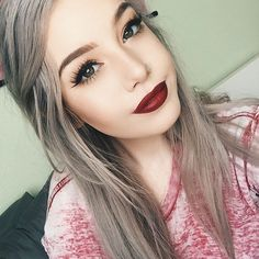 WEBSTA @ hailiebarber - Winged liner and red lips@nyxcosmetics Liquid Suede 'Cherry Skies' lipstick@wetnwildbeauty… Winged Eyeliner Tutorial, Winged Liner, Ardell Lashes Demi Wispies, Becoming A Makeup Artist, Liquid Suede, Applying Eye Makeup, Neutral Eyes, Evening Makeup, Girl Trends