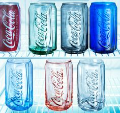 Coke glasses. need these!