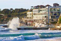Bondi is one of the rare Australian East Coast beaches that face south - most face east. Bondi Beach Sydney, Sydney Beaches, Australia Capital, Australia Travel, Places To Travel, Places To Visit, Bondi Icebergs, East Coast Beaches, Australian Capital Territory