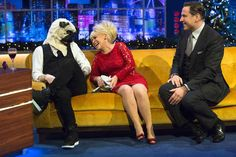 Just having a good old chat while on The Jonathan Ross Show.