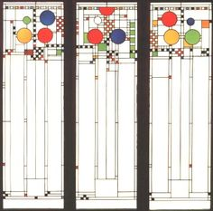 Frank Lloyd Wright: Stained glass for the Coonley Playhouse