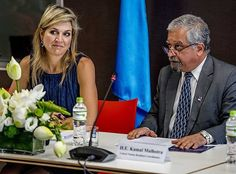 On the second day of Queen Maxima's visit to Vietnam, the Queen arrived in Hanoi city of Vietnam and attended a meeting at the International Finance Corporation (IFC) in Hanoi. Queen Maxima is in Vietnam for a 3-day visit in her capacity as United Nation's Secretary-Generals Special Advocate for Inclusive Finance for Development.