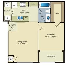 One Bedroom Apartment For Rent - https://landingapartmentshouma.com/one-bedroom-apartment-for-rent/