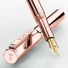 BuyTed Baker 24k Fountain Pen, Rose Gold Online at johnlewis.com