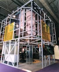 Exhibition Stand Erectors Jobs : Image result for scaffold exhibition stand designs in