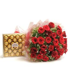 #Flowers and #Chocolates Delivery available at Ferns N Petals http://bit.ly/1xfxv4P