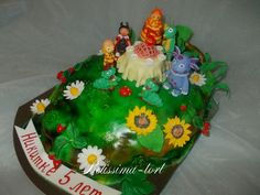 Лунтик #торт_на_заказ_мариуполь #мульт_герои #бисквитный_торт #шоколадный_торт