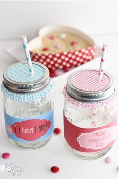 80 Best Mason Jars Valentine S Day Images On Pinterest Valentine