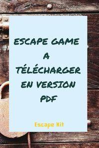 Jeu de piste pour 5 6 ans pleins de bonnes ides danniv sur ce escape game tlcharger en version pdf pour linstaller chez vous diy malvernweather Image collections
