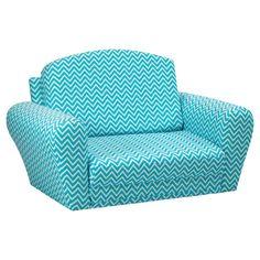Kidz World Cosmo Blue Sleepover Sofa | from hayneedle.com