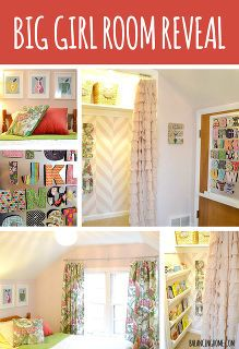 big girl room reveal, bedroom ideas, home decor, A fun kid room revealed