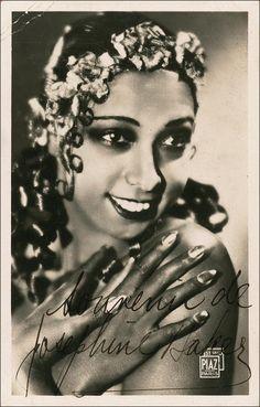 Portrait of Josephine Baker by Studio Piaz, 1930's