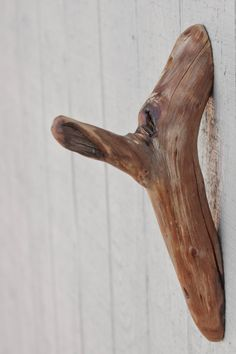 Very Unique A One of a Kind 8 Natural Wood Hook made by foundpiece, $15.50