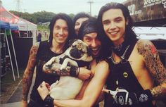 Black Veil Brides, We Came As Romans, more spend quality time with Doug the Pug at Warped