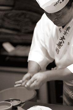 Sushi Restaurant, Mie Prefecture, Japan - Chef: Matsuda San. S)