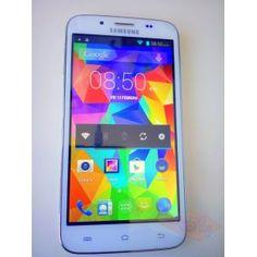 """Móvil Android 4.4 de segunda mano, LIBRE y DUAL SIM, estilo S5, QUAD CORE, 5"""" PANTALLA, CAMARA 8MPX, ETC. Mas información en nuestra web www.mano-segunda.com PRECIO: 69.99€.  http://www.mano-segunda.com/3822-thickbox/movil-de-segunda-mano-dual-sim-50-otg-3g-wifi-c2000-s5-android-44-mtk6582-quad-core.jpg"""