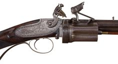 Collier Patent - Flintlock Rifle-Rifle Firearms Auction Lot-3165