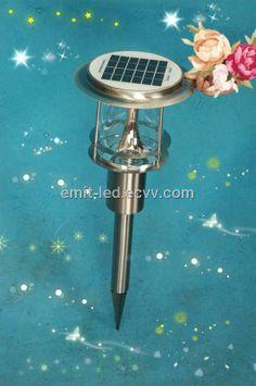 LED Solar Lawn Light (EM-SL-3W) - China LED Solar Lawn Light;induction Lawn Light;induction garden light, EMIT Solar Lawn Lights, China, Led, Garden, Garten, Gardens, Porcelain Ceramics, Tuin, Porcelain