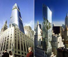 daniel libeskind's green new york tower