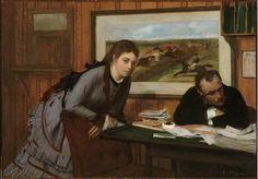 bouderie - Degas 1870