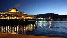 Llegada crucero MS Prinsendam al Puerto de Motril