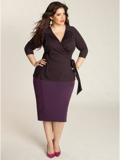 Miley Plus Size Top - Work Wear Collection by IGIGI