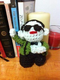 Jessica Nevin made an IKEA Monkey amigurumi … and she made a Psy too!