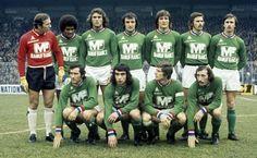 Retro Football, Vintage Football, Football Jerseys, St Etienne, Club, Goalkeeper, Man, The Past, Vintage Sport