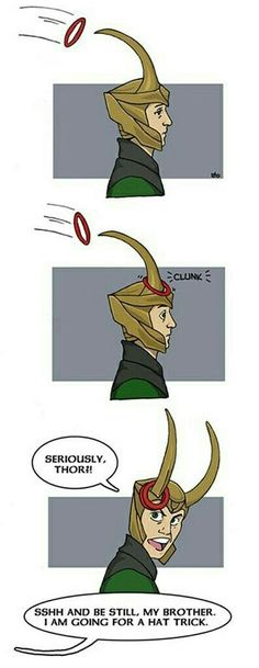 You mean a Helmet trick thor.