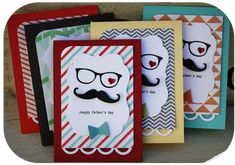 Danni Reid designed these fun cards for Father's Day