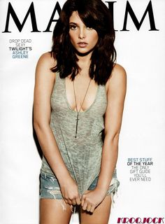 Ashley Greene poster on sale at theposterdepot. Poster sizes for all occasions. Ashley Greene Poster Maxim Cover ins for sale. Ashley Green, Alice Cullen, Breaking Dawn, Beautiful Celebrities, Beautiful Actresses, Beautiful Ladies, Saga Twilight, Maxim Cover, Cover Girl Makeup