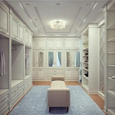 Looking for some fresh ideas to remodel your closet? Visit our gallery of leading best walk in closet design ideas and pictures. Walk In Closet Design, Closet Designs, Wardrobe Design, Big Closets, Dream Closets, Dressing Room Closet, Dressing Rooms, Dressing Area, Beautiful Closets