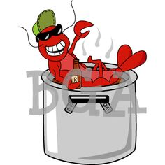 crayfish or crawfish or crawdads what do you call em crawfish rh pinterest com Dancing Shrimp Clip Art Authentic Cajun Cooking Clip Art