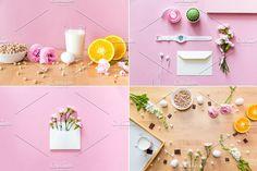 Flowers set. Breakfast bundle. by Julia Potato on @creativemarket