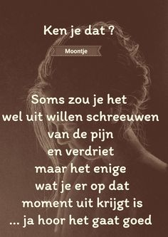 Zen Quotes, Strong Quotes, True Quotes, Qoutes, Motivational Quotes, Dutch Quotes, My Mood, Good Thoughts, Love Words