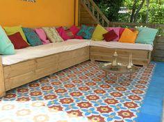 Spaanse Tegels Tuin.Portugese Tegels Tuin Materialen Voor Constructie