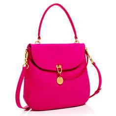 The Sutton Messenger Pink, $298, now featured on Fab.