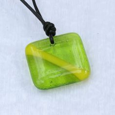 scuba diving jewelry Nitrox down Flag fused Glass Pendant