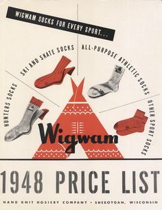 Wigwam Socks. Made in America since 1905. #madeinusa