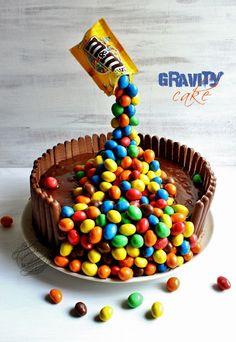 Il était une fois la pâtisserie...: Gravity cake ou gâteau suspendu chocolat noix de coco