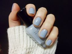 I was looking for a grey blue nail polish and found one that has the same name as I do. Weird. Zoya nail polish in Kristen.