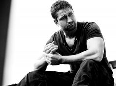 - Gerard Butler - 43-year old Scottish actor, studied law and was gratuated of the Glasgow University before turning into acting at 25. Awesome in RockNRolla and P.S. I Love You.