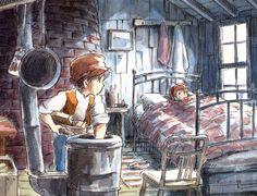Le chateau dans le ciel Studio Ghibli